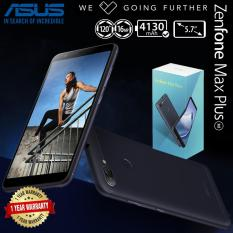 Asus Zenfone Max Plus M1 4/64GB - Dual Camera 16/8MP - 4130 mAh - 5,7 inches HD Garansi Resmi