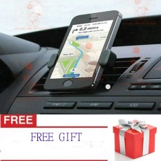 CantiQue ( FREE GIFT / HADIAH ) Phone Holder Mobil AC / Vent Car Holder Clip Magnetic Holder (HP)  - Hitam
