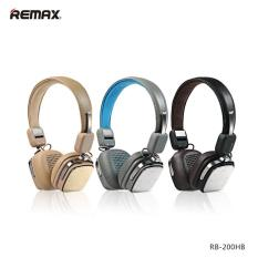 China Brand Headphone Remax RB-200HB Bluetooth V4.1 Headset Headband Wireless Earphone 3D Stereo Headphone for ISO Android Smartphone - intl