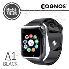 Cognos Smartwatch A1 - GSM TERMASK KOTAK - Hitam