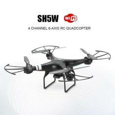 Drone Wifi Fpv Live Realtime HD Camera HR SH5W Dji Phantom 3 Standard Clone DJI Phantom 4 Pro vs Syma X5hw X5c X5sw X8w X8hw X8c Mainan Remote Control