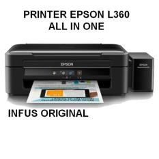 EPSON Printer L360 All In One - Hitam