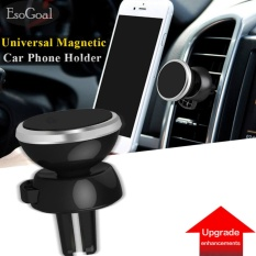 EsoGoal [Upgrade] Magnetic Car Mount, Universal Air Vent Magnetic Car Cell Phone Holder for Smartphones and GPS Devices (Silver) - intl