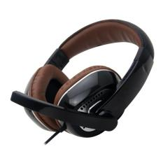 Gorsun GS995 Heavy Bass Headset with a Microphone Coffee