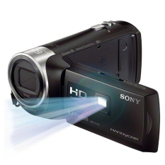 Handycam Sony HDR-PJ410  HD with Built-in Projector - 9.2 MP - Hitam