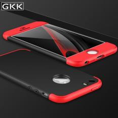Hardcase GKK 360 For Apple iPhone 5s Full Cover Casing Handphone Polikarbonat - Black Red