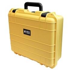 Kasus IBEX-Kuning Watertight Hard Rugged Protective Case untuk Elektronik, Peralatan, Kamera, Peralatan, Drone, dan Lainnya (IC-1500YL)-Intl