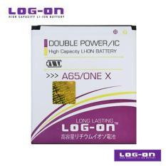 LOG-ON Battery Untuk Evercoss A65 (One X) - Double Power & IC - Garansi 6 Bulan