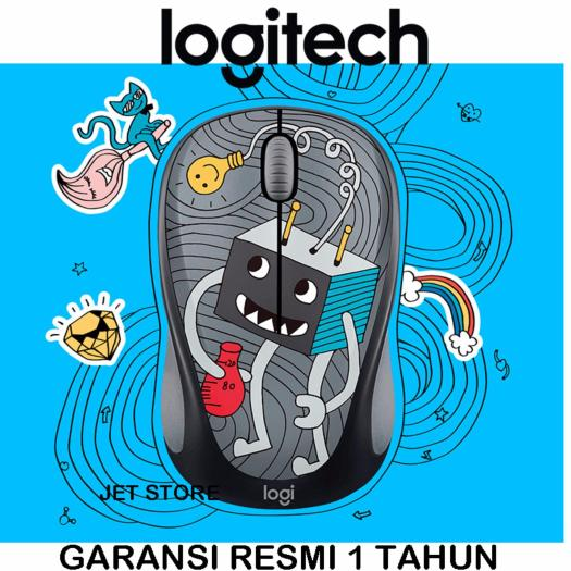 Logitech Wireless Mouse Doodle Collection M238 - Lightbulb