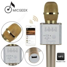 Mic Karaoke KTV Q9/Q7 Bluetooth Wireless Microphone With Speaker Karaoke