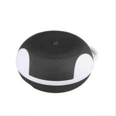 Mini Portable Wireless Stereo Bluetooth Speaker Outdoor Bentuk Bulat 3 Warna Mendukung TF Kartu Audio Player-Intl