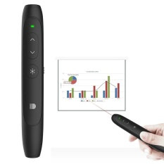 Multifungsi Wireless Remote Control Power Point PPT Wireless Presenter Remote Clicker Touchpad Udara Mouse Remote Pena-Internasional