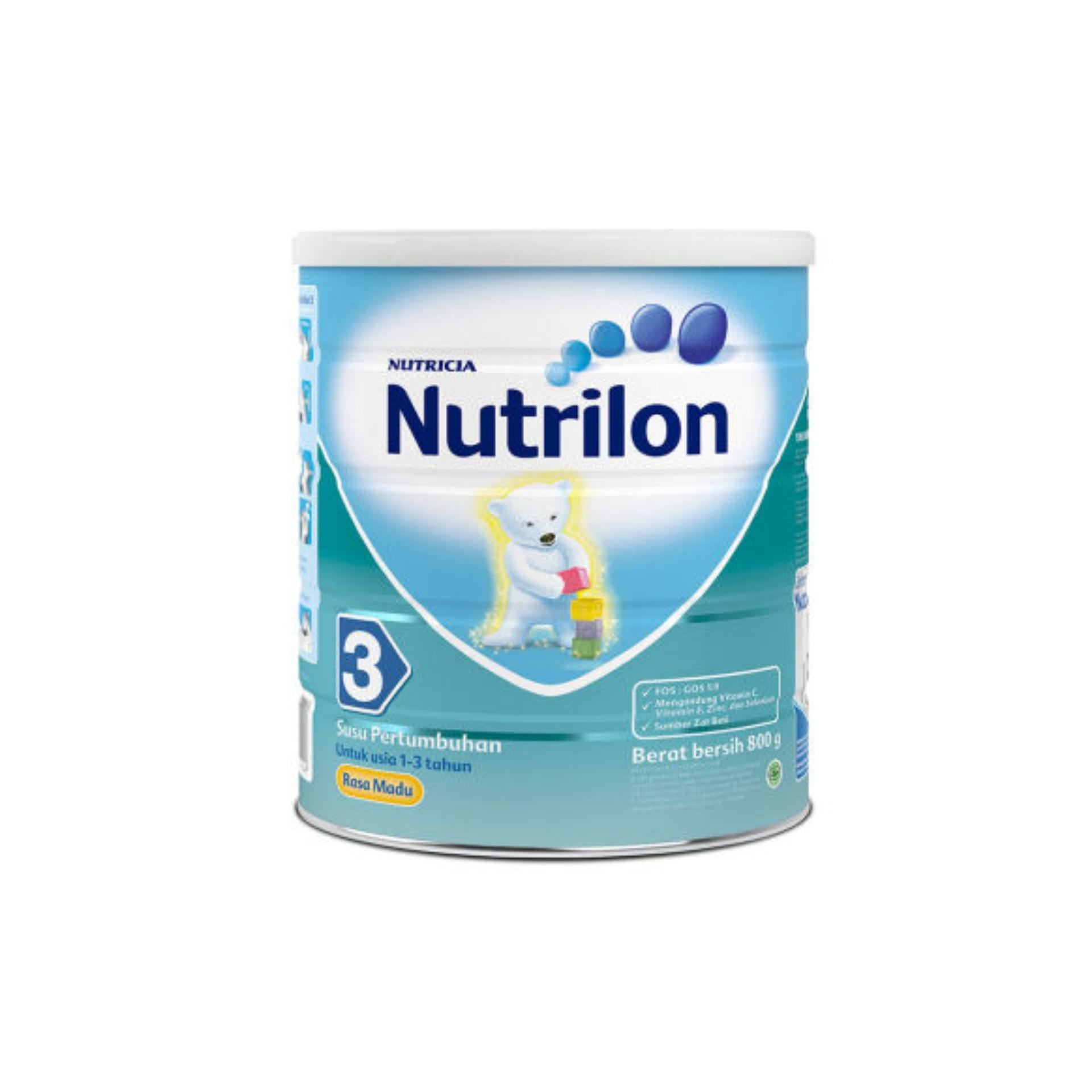 NUTRILON Regular 3 Madu Susu Tin 800g / 800 g