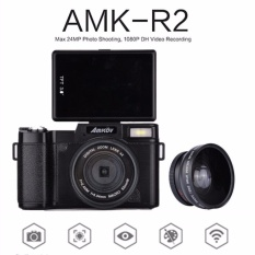 Asli AMKOV CDR2 Digital Kamera Video Camcorder 800 W Pixel 3 Inch TFT Layar dengan UV Filter 0.45X Super Wide Angle Lens-Intl