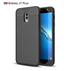Original Lazada Case Auto Focus For Samsung Galaxy J7+ / J7 Plus - Hitam