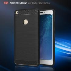 Original Lazada Case Ipaky Shockproof Carbon Hybrid For Xiaomi Mi Max 2 - Hitam