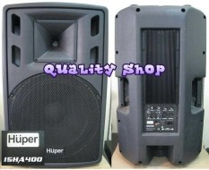 ORIGINAL  SPEAKER ACTIVE MONITOR HUPER 15HA400 ( satu pasang)