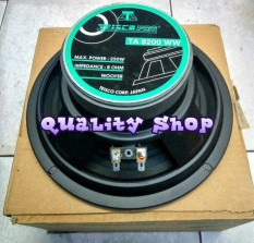 ORIGINAL  speaker woofer 8 inch tiesco japan corp 200 watt