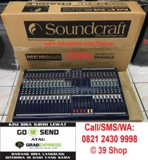 ORIGINALS  Mixer Audio SOUNDCRAFT MPM 24/4 (24 Channel) Grade A