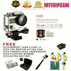 PAKET TERMURAH Action Camera 4K UltraHD wifi dual screen seperti kogan bcare Bpro gopro