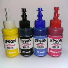 PAKET TINTA EPSON PIGMENT 4 WARNA PHOTO QUALITY