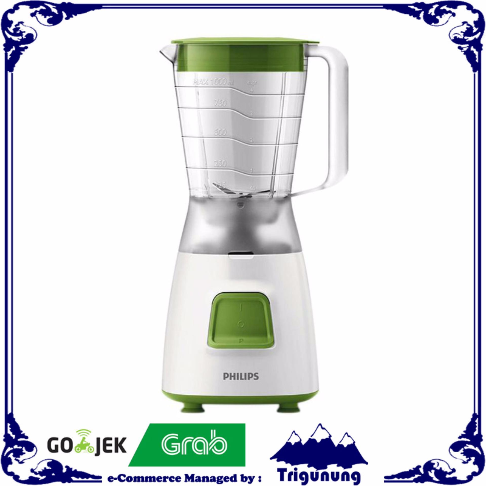 Philips - HR-2057/03 Blender Plastik 1.2L Green