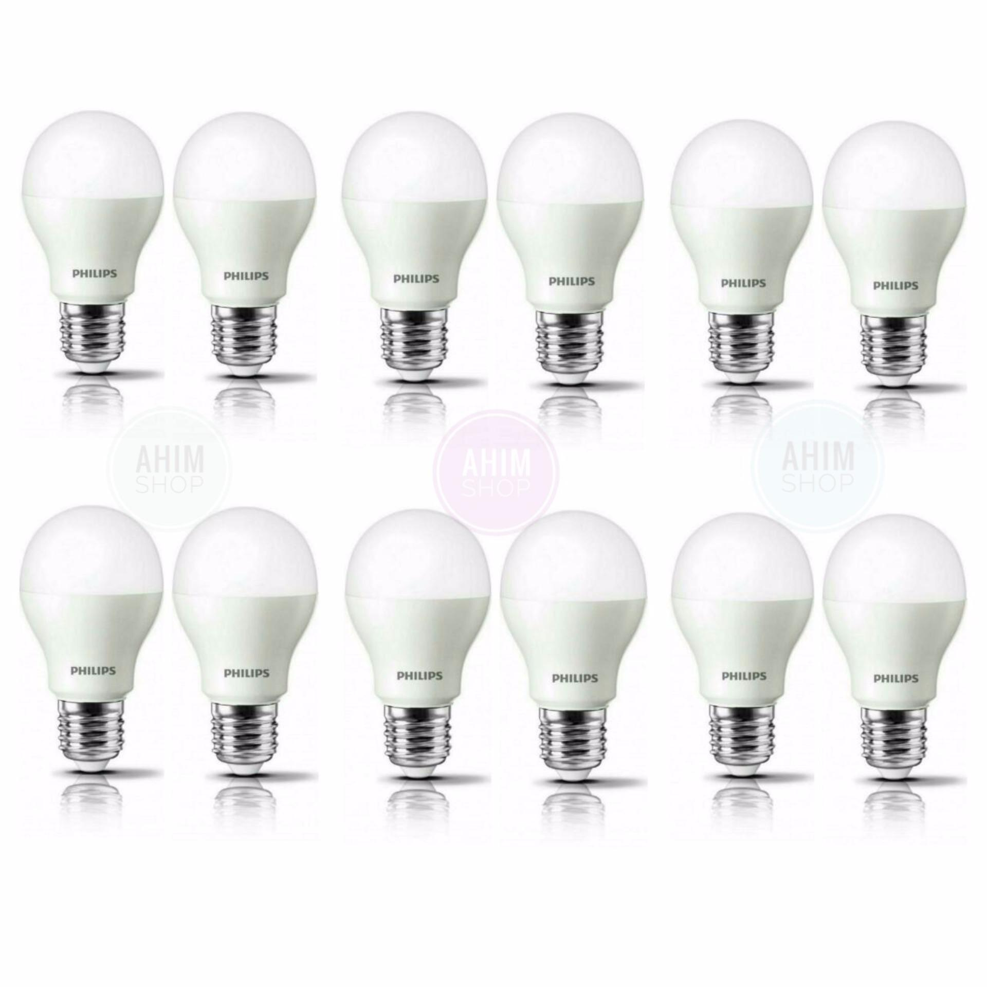 Philips Led Bulb 10 5w A60 E27 1055 Lumen Cool Daylight 2pcs White Classic 7 70w G93 Ww Kuning 105w 12pcs