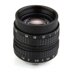 PLATIM Generic Mount CCTV 50mm f1.4 C Lens for Olympus PEN E-PL5 E-PM3 E-PM2 E-P3 E-PL3 Black