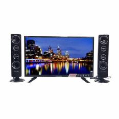 POLYTRON Cinemax LED TV with Tower Speaker 24T8511 /TY [24 Inch] garansi 5 tahun