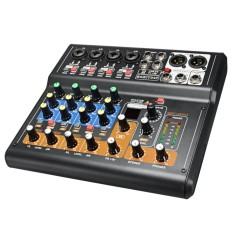 Portable 8 Channel Professional Live Studio Audio Mixer USB Mixing Console 48V - intl