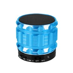 Portable Mini Bluetooth Speaker Nirkabel Subwoofer Suport Radio untuk MP3 Komputer Ponsel (Biru)?