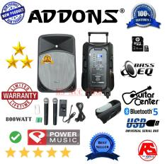 PORTABLE SPEAKER PA PROFESSIONAL ADDONS 15 INCH POWER FULL
