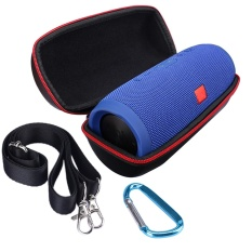Portable Perjalanan Membawa Penyimpanan Hard Case Casing Pemegang Zipper Pouch For JBL Charge 3 Bluetooth Speaker