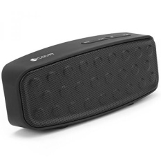 Portable Wireless Bluetooth Speakers - Forcovr Outdoor Travel Bluetooth 4.2 Stereo Bass Speaker Built-In Dual Driver with Subwoofer,Built-in Microphone,Handsfree Calling,FM Radio,TF card slot ,Black - intl