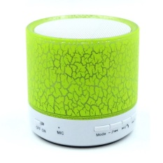 Prime Mini LED Bluetooth Speaker Cracked Colour Edition - Hijau