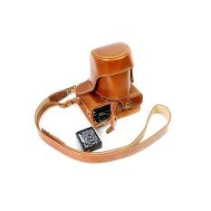 PU Kulit Tas Bag dengan Tripod Desain Compatibleforfujifilmx-A1 XA1 X-A2 XA2 X-M1 XM1 dengan 18-55 MM Lensa 16-50 Mm-Internasional