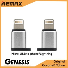 Remax Visual OTG Adapter Micro USB To iPhone Lightning Apple 8 pin Adaptor Converter
