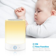 Romantis Pencahayaan Bluetooth Pembicara dengan Warna Berubah Sentuh Dimmable Tabel LED Lampu Penopang TF Kartu Speakerphone Tangan-Bebas Panggilan mode Radio FM-Internasional