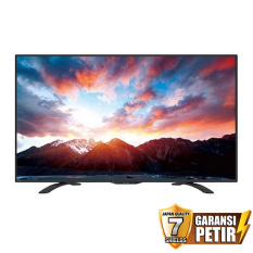 Sharp 32 inch LED HD TV - Hitam (Model LC-32LE185i)