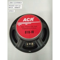 Speaker ACR 8in ACR818 Wofer 200Watt