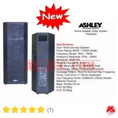 Speaker Active 2 Way System 15 Inch Ashley PRX 625 A ( Dua Unit ) Satu Pasang