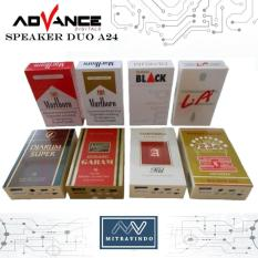 Speaker Advance A24 Model Tempat Rokok