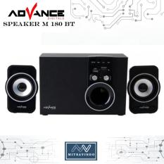 Speaker Advance M180BT Speaker aktif 2.1 - BLUETOOTH  - New