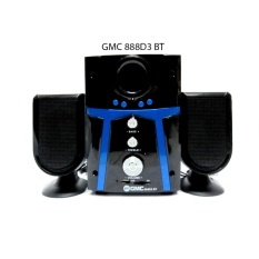 Speaker Aktif GMC 888D3 BT Bisa bluetooth