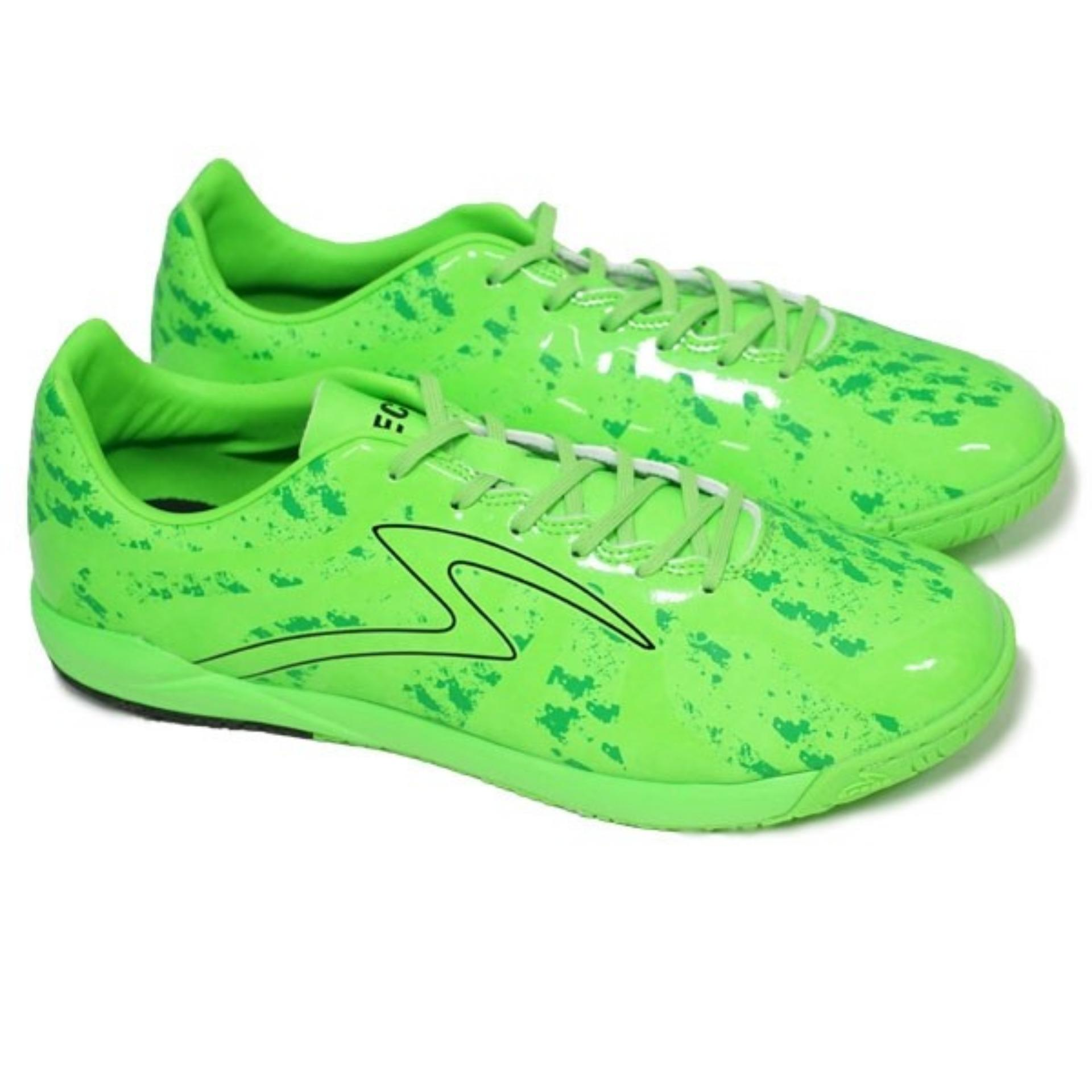 Specs Barricada Ultima In SE Opal Green Dark Green Black | Sepatu Futsal