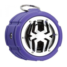 Spider Waterproof Bluetooth Speaker BT802 Purple - intl