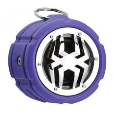 Spider Waterproof Bluetooth Speaker BT802 Ungu-Intl