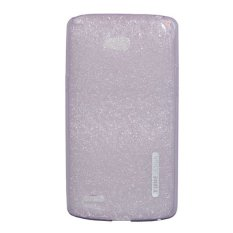 TUNEDESIGN LiteAir Ultrathin 0.3mm LG L80 Dual Sim - Purple/Ungu TPU Jelly Silicone Softcase Backcase Backcover Case Hp Casing Handphone