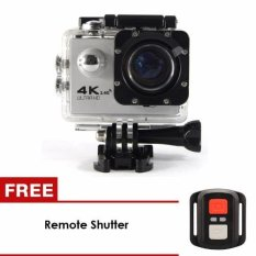 Unique 4K 12MP Wifi Ultra HD Action Camera Wifi Sports Cam + Remote Control Shutter For Smartphone ios & Android Phone