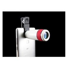 Universal Lensa Kamera Kit-Semua-bagus HD 12x Zoom Kamera Single TUBE Mini Tinggi Daya Teropong Penglihatan Malam Panjang Panjang Fokus Optik Teleskop Ponsel untuk IPhone Samsung LG Sony atau Telepon Lainnya-Intl